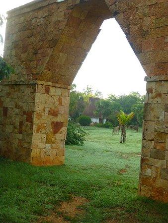 Complexe Munha Uxmal : En entrant sur le terrain