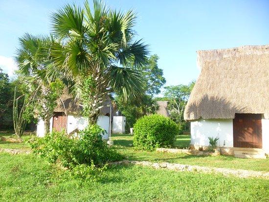 Complexe Munha Uxmal : Huttes d'abitation