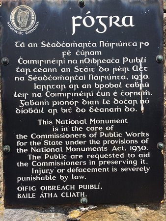 Ardfert, Irlanda: 1930's Protected Structure Sign