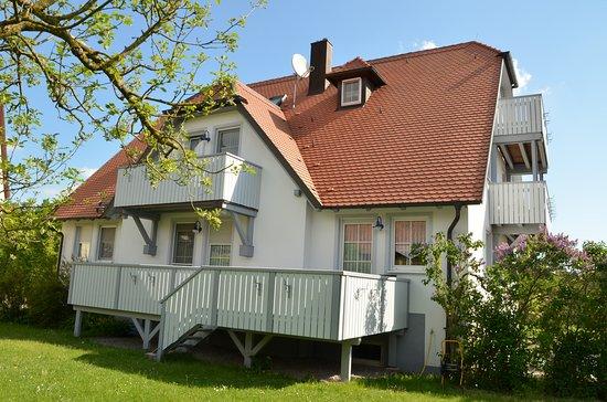Windelsbach, Germany: Rückseite zum Garten