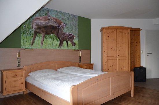 Windelsbach, Duitsland: Eines der gemütlichen Zimmer
