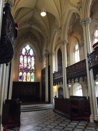 Dublin Castle: St. Patricks hall and chapel