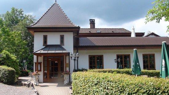 Waldcafé: Restaurant Entrance