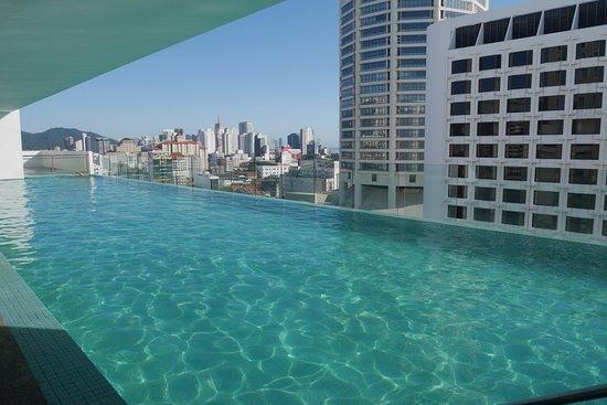 The Wembley A St Giles Hotel Penang Mini Infinity Pool