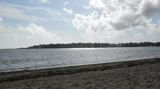 Pierre & Vacances Résidence La Corniche de la Plage : Vue également de la chambre