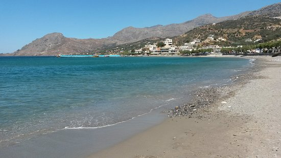 Morpheas Apartments: La spiaggia di Plakias