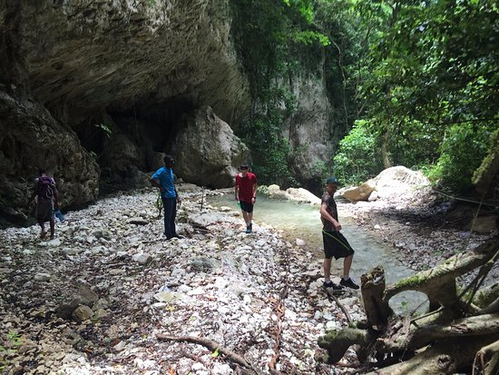Barahona, Dominicaanse Republiek: cool river