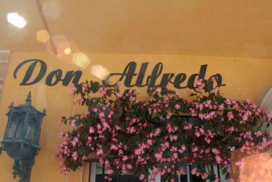 Hotel Don Alfredo: L'ingresso dell'hotel