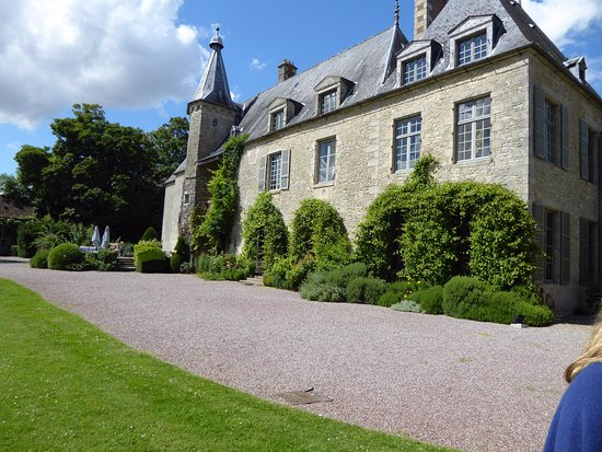 Saint-Paterne, France : Rear of Chateau