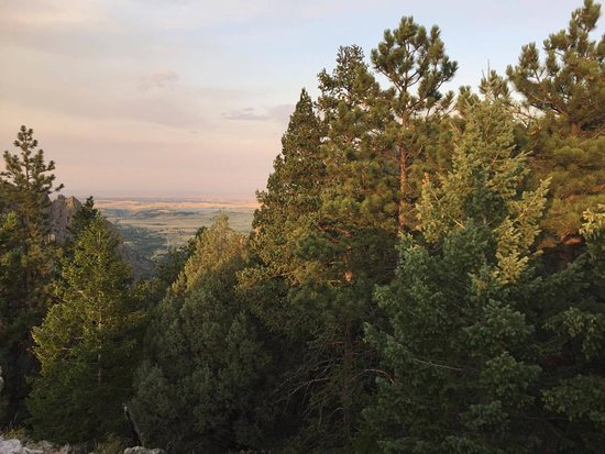 Eldorado Springs, Kolorado: Looking out toward Denver from the top of the trail