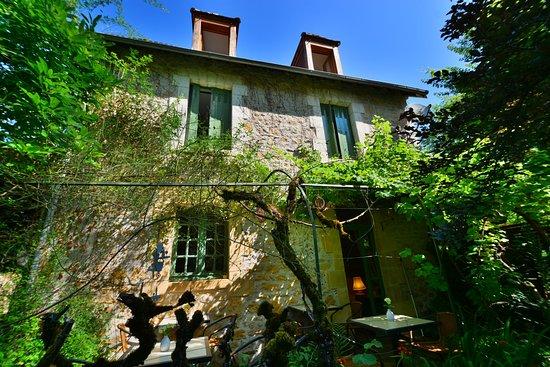 Le Jardin Sarlat: Blick auf die Frühstücksterrasse
