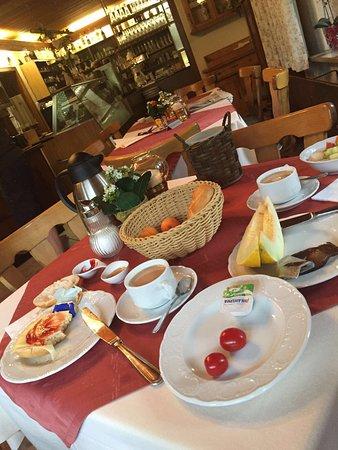 Gastehaus Richter: Breakfast in a very cozy environment and dinner in the garden!
