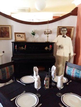 Espana Hotel: El piano donde García Lorca tocaba con su amiga Ladrón de Guevara - Hotel Espana