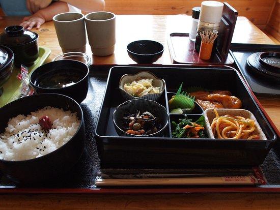 香美市, 高知県, 道の駅の中のレストランの定食