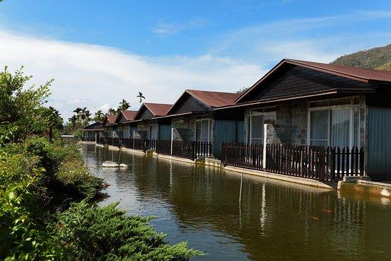 21 Holiday Resort : 戶外可以餵魚