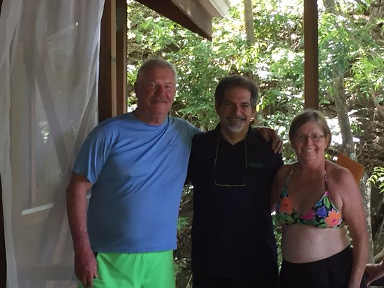 Secret Bay: Gregor , Cathy and Bill at the Zing Zing