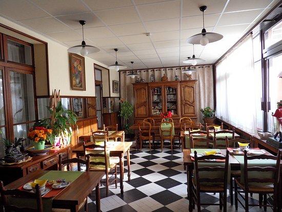 Hotel Victoria : Salle des petits-déjeuners