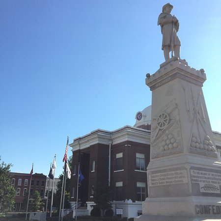 Dyersburg, Теннесси: Confederate Monument
