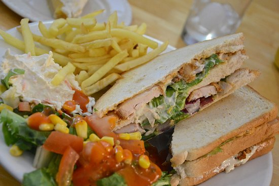 Cashel, Ирландия: chicken sandwich