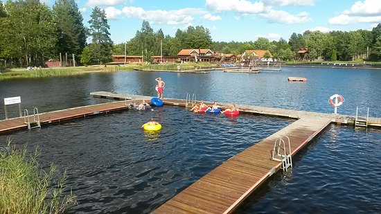 Osthammar, Suécia: Fantastiskt mysigt bad!