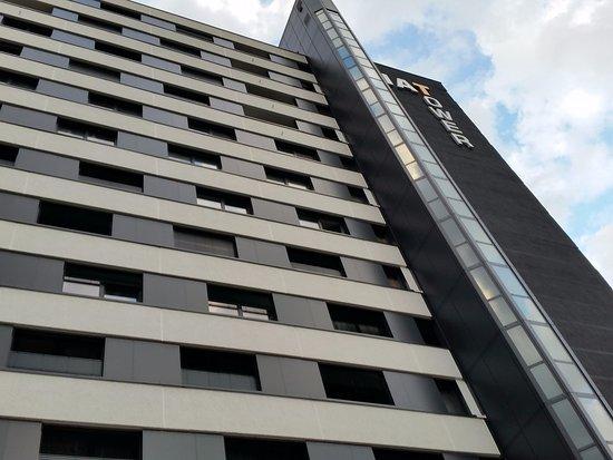 hotel tower picture of fourside plaza hotel trier trier tripadvisor. Black Bedroom Furniture Sets. Home Design Ideas