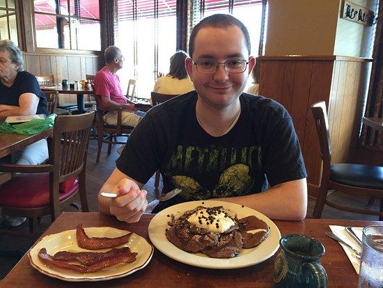 The Original Pancake House: Pancakes, pancakes, pancakes.  Avoid the shriveled blueberry pancakes.
