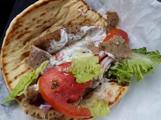 Mediterranean Cuisine: Gyro Sandwich