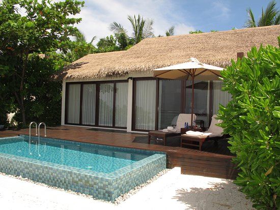 The Residence Maldives: Our villa on the beach