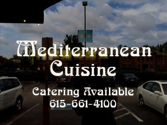 Mediterranean Cuisine: Front Door