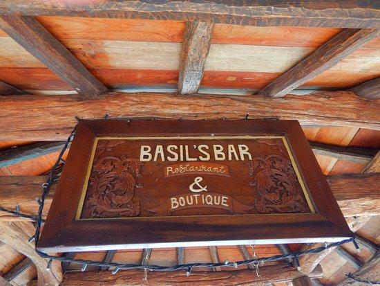 Mustique: Tendance Bar....