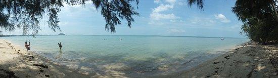 ลิปะน้อย, ไทย: lipa noi beach, bay panorama