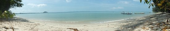 lipa noi beach, lonely beach