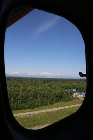 Talkeetna Air Taxi: Erste Foto aus dem Flugzeug