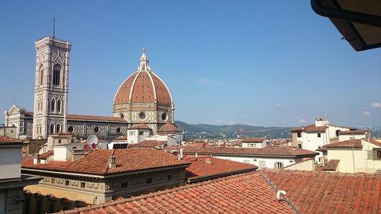 Aperitivo sui tetti di Firenze. - Picture of Caffe\' La Terrazza ...