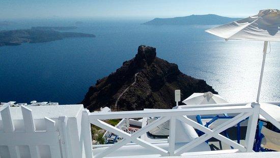 Artemis Villas: panorama dalla terrazza
