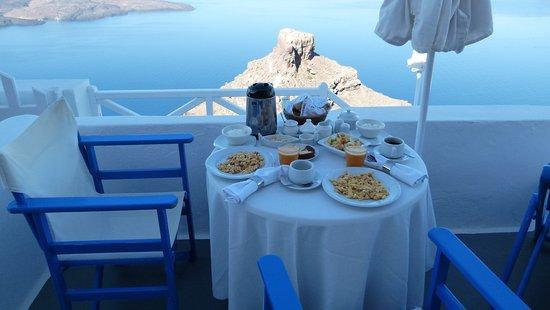 Artemis Villas: colazione