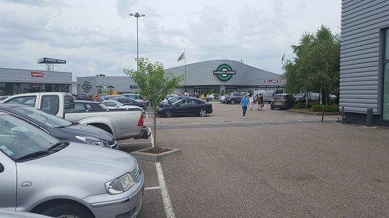 Talange, France : parking