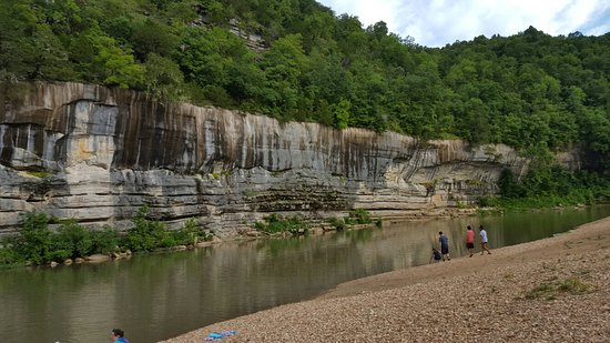 Yellville, AR: Gentle River with view