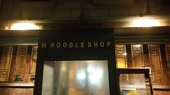Photo of Asian Restaurant M Noodle Shop at 549 Metropolitan Ave, Brooklyn, NY 11211, United States