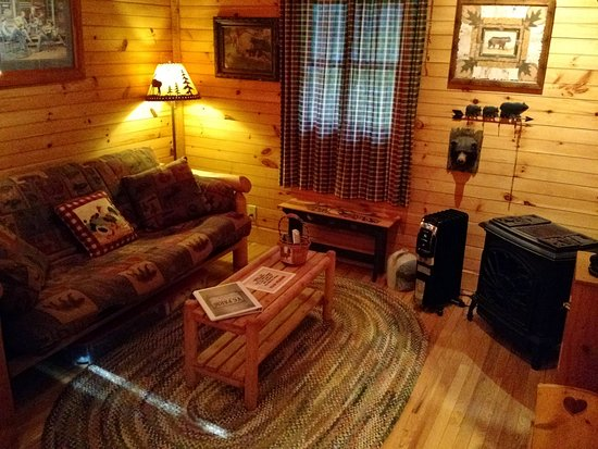 Valle Crucis, Carolina del Norte: Bear Cabin