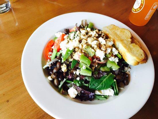 New Castle, CO: Greek salad.