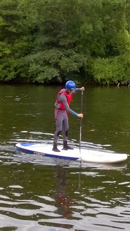 Symonds Yat, UK: Then you stand up!