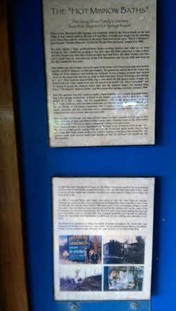 Riverbend Hot Springs: Some history