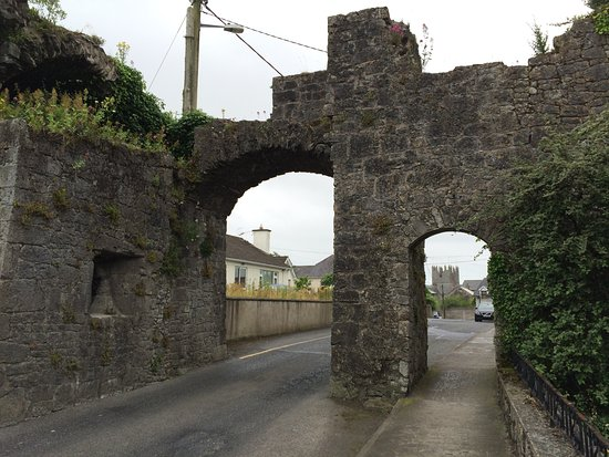 North gate of the old walled town, Fethard