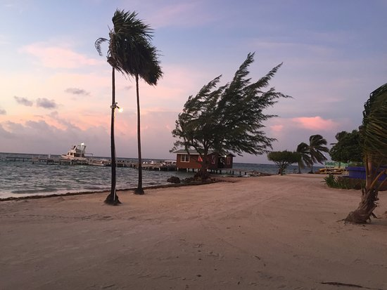 Turneffe Island, Belice: view from cabana 4
