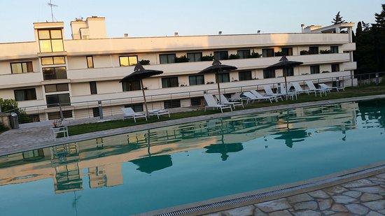Piscina sul terrazzo dell\'hotel - Foto di Hotel Vittoria Resort ...