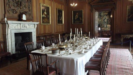 Lyme Park: Dinning Hall