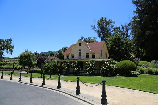 Rutherford, CA: One of the oldest houses in Napa