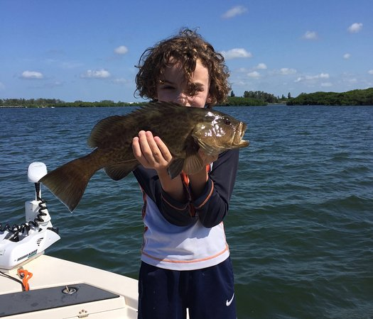 Grouper caught off Boca Grande