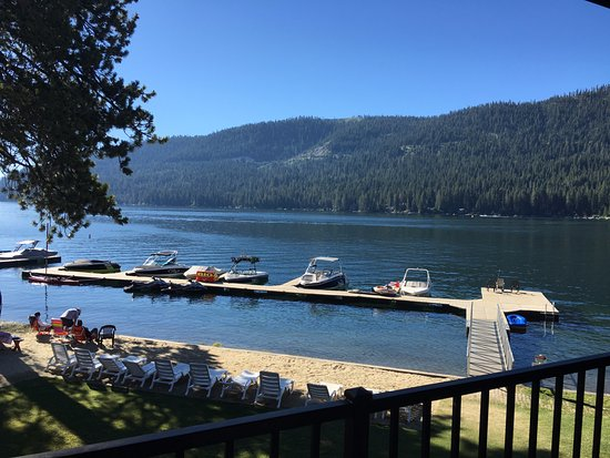 Donner Lake Village: View from room.